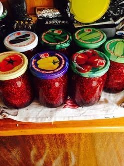 Заготовка ягод. Мой урожайный огород!
