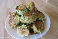 Оладьи с зеленым луком. Вдогонку к бутербродам:)