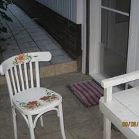Декупаж, как я изменила старый стул)