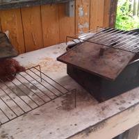 Как мы коптим сало на даче
