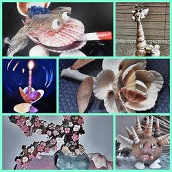 Поделки из морских ракушек как отдых для детей и взрослых