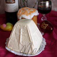 Пасха (пасхальный сыр) с карамельным вкусом