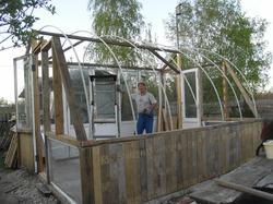 Строим уютный домик для растений /начало/