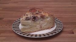 Яблочный пирог с орехами. Видео-рецепт.