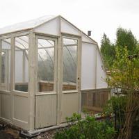 Строим уютный домик для растений / окончание /