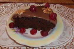 Шоколадный торт.