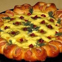 Праздничная пицца...