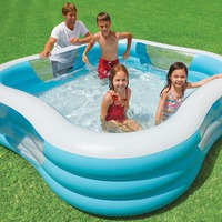 Как выбрать надувной бассейн для дачи