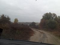 Дорога на дачу из окна автомобиля. Прямой репортаж