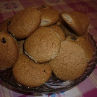 Печенье овсяно-ржаные.
