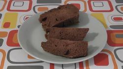 Шоколадный кекс в чашке.