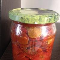 Салат из вяленых помидоров!