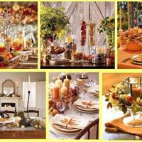 Осенние поделки для дома