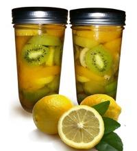Персики и Киви в сахарном сиропе с лимоном