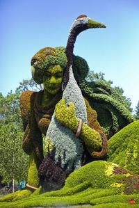 Международная выставка садово-паркового искусства, проведенная в Монреале,