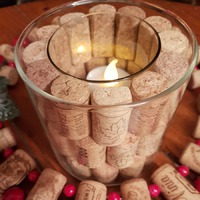 Похвастушки. Новогодний декор из винных пробок