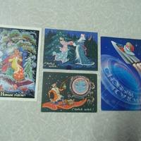Немного новогодних открыток