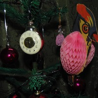 Бумажный попугай. Игрушка из детства