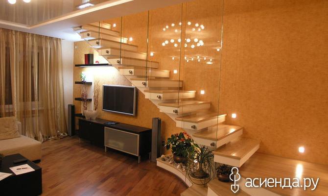Как сделать освещение лестницы: интересные идеи