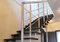 Больцевые лестницы: расчёт шага, выбор конструкции