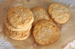 Печенье с сыром и имбирем