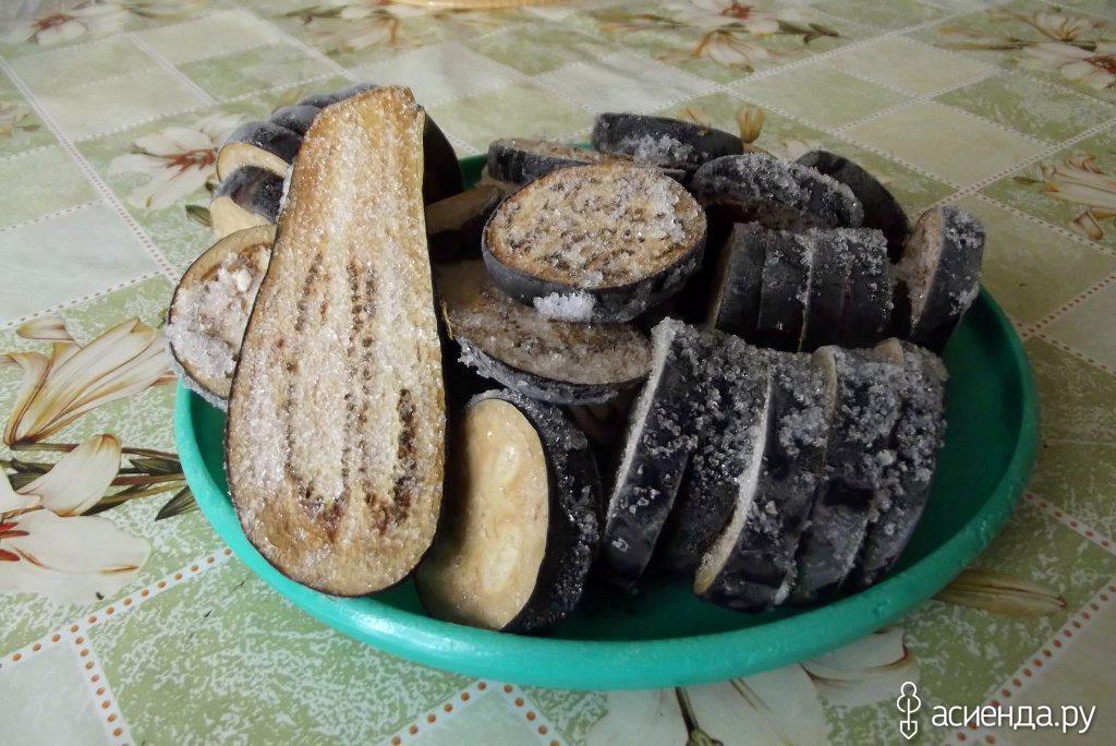 Баклажаны замороженные на зиму рецепты