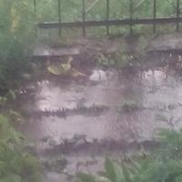 И лето началось дождями, да еще какими...