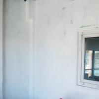 Оформление стен на веранде.