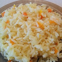 Рис с овощами (в мультиварке)