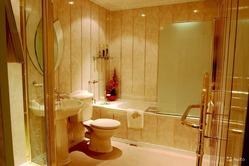 Пластиковые панели для ванной и кухни на даче