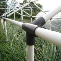 Пластиковые трубы для мини-парников и теплиц