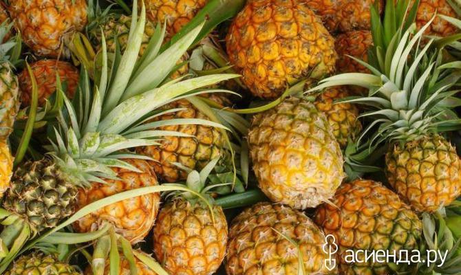 Как правильно хранить ананасы