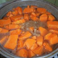Вкусный тыквенный суп - пюре.