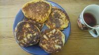 Оладьи из тыквы (кабака)