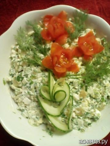 Рецепт салатов, закусок с фото