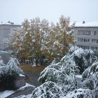 А снег идёт!!!