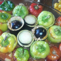 Гемиста - фаршированные овощи по - гречески