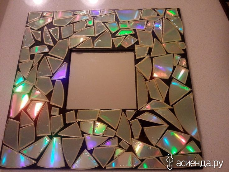 Мастер класс мозаика из дисков 175
