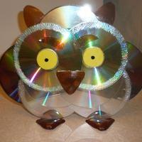 Поделки из лазерных дисков для дома и дачи