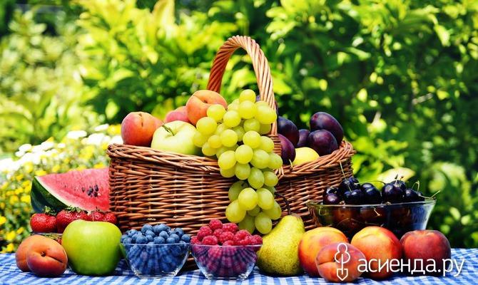 Полезные фрукты для здоровья волос