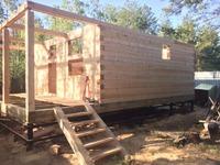 Как мы строим баню