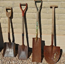 Как избавиться от ржавчины на садовом инвентаре?