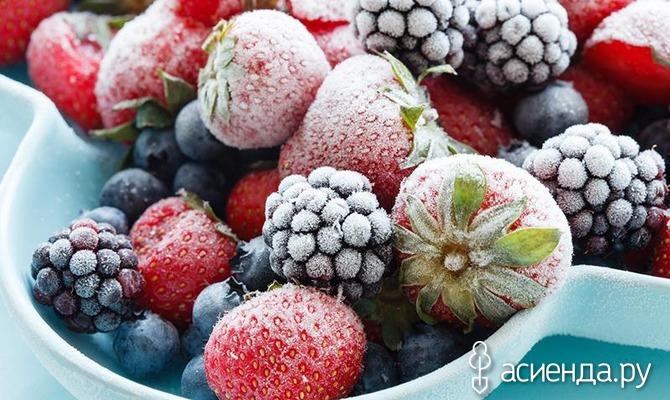 Как выбрать замороженные ягоды?