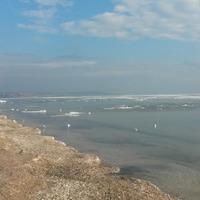 Зимний денек на море