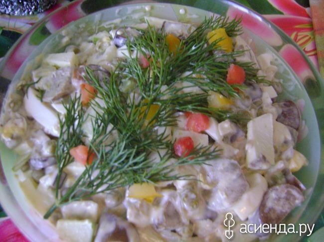фото-рецепты закусок и салатов