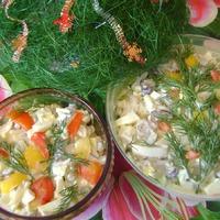 Мой новый салат ))) (давно забытый старый)