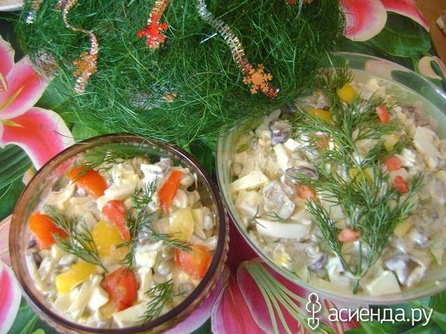 старые забытые рецепты салатов фото