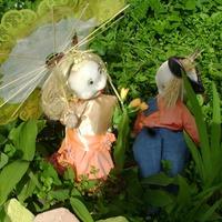 Украшаем сад и клумбы