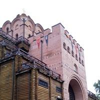 Прогулка у Золотых Ворот после долгожданного дождя. Киев
