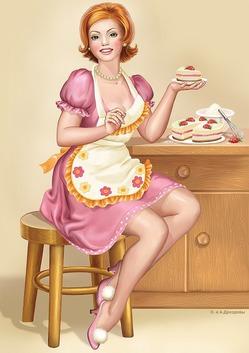 Посвящается моей помощнице…на кухне!